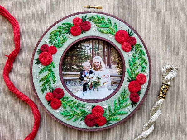 Holiday Wreath Project