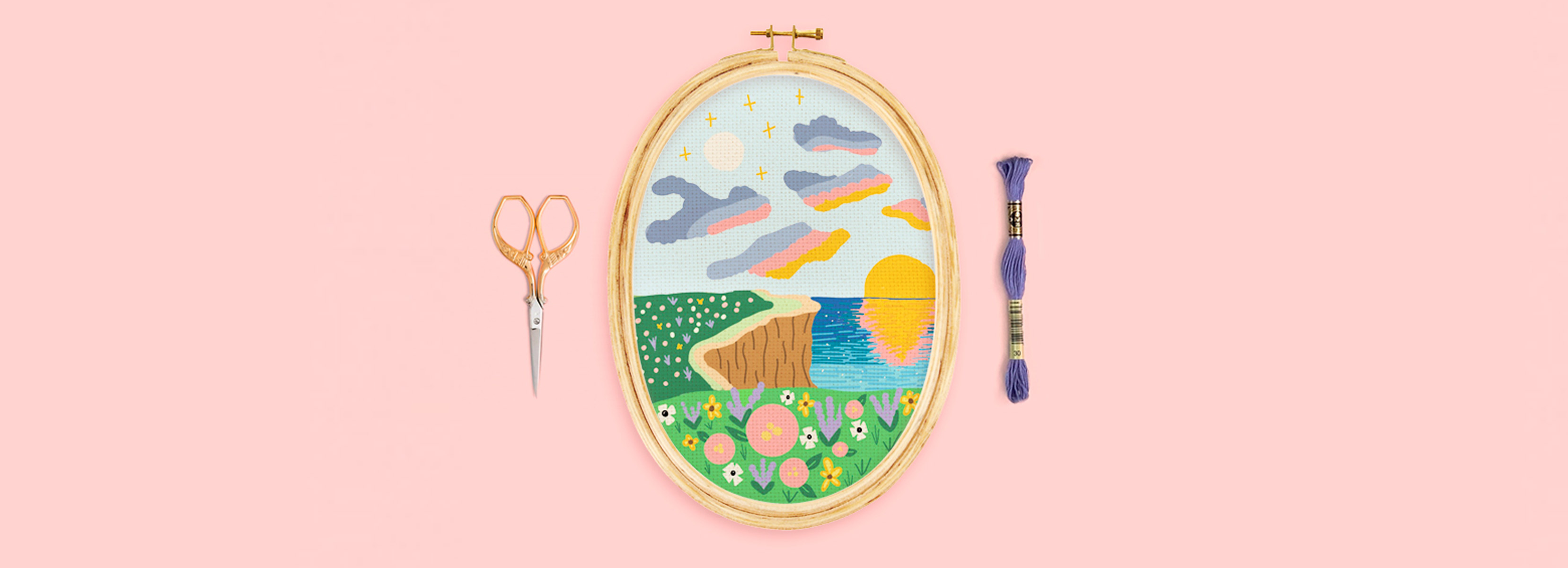 national embroidery month pattern