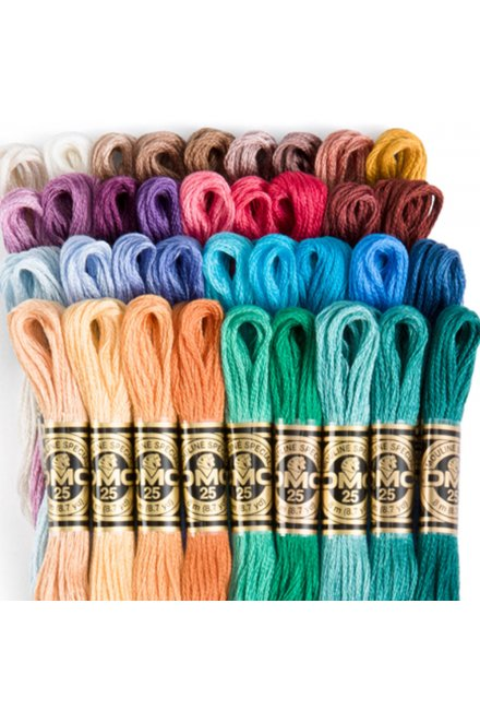 DMC Six Strand Embroidery Floss Anniversary Collection