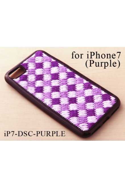 Creative Stitch Case Kit for iPhone7 plus (Purple)