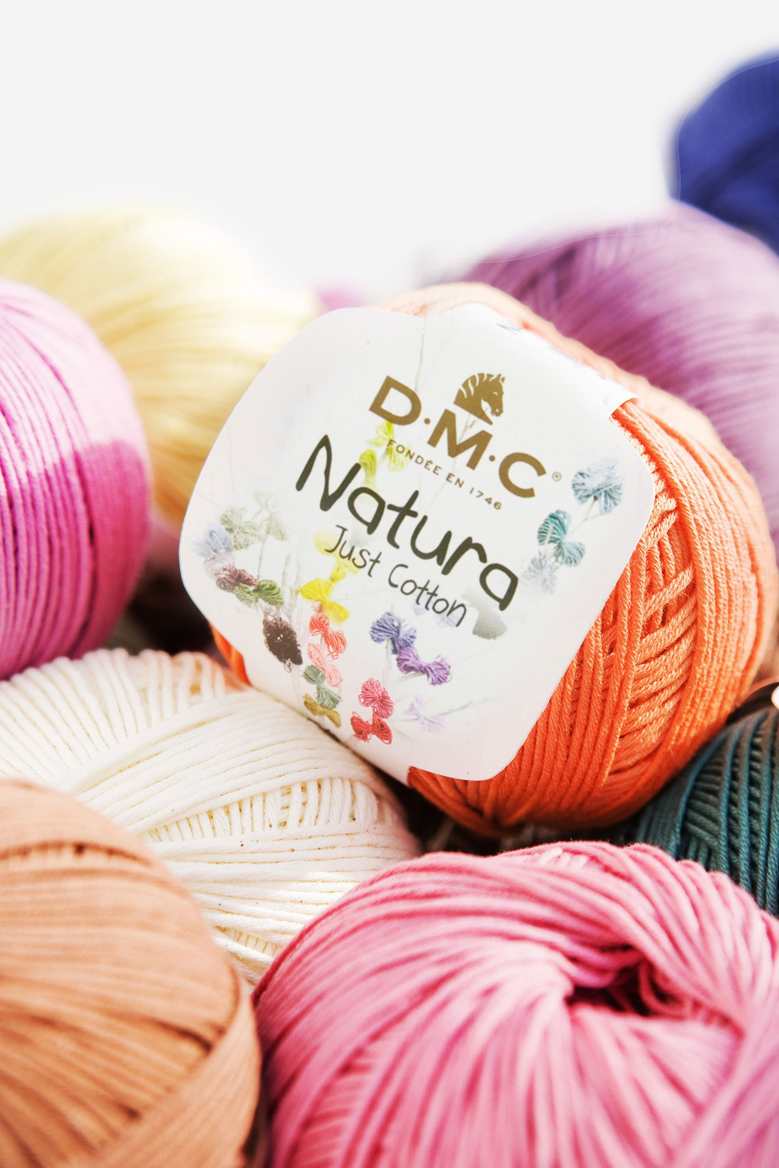 Natura just cotton art. 302 hilo para tricot y ganchillo