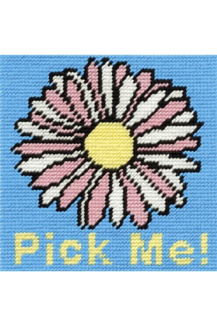 Flower Needlepoint Kit