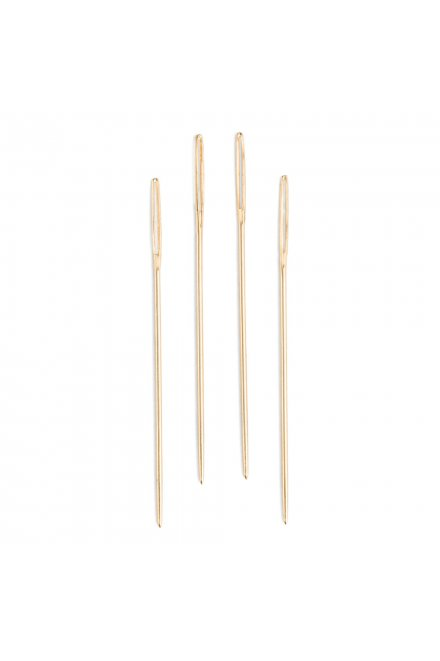 DMC Gold Plated Needles size 7,8,9