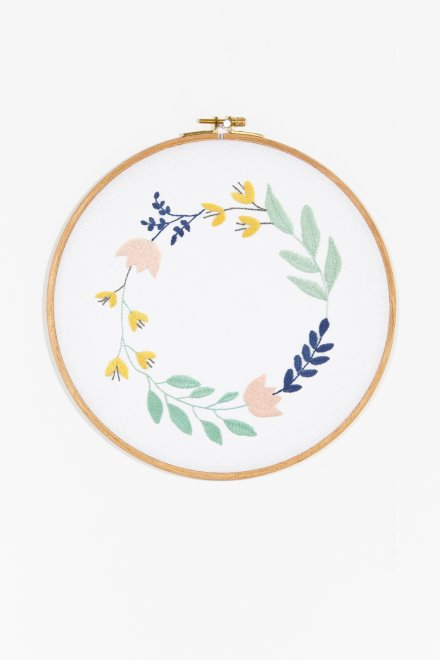Floral Wreath - pattern