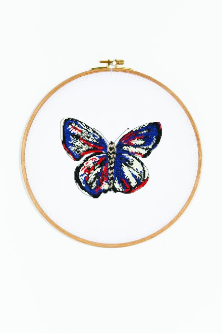 Butterfly a - butterfly kate  pattern
