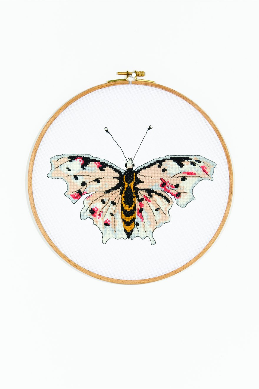 The Butterfly Victoria Cross Stitch Pattern