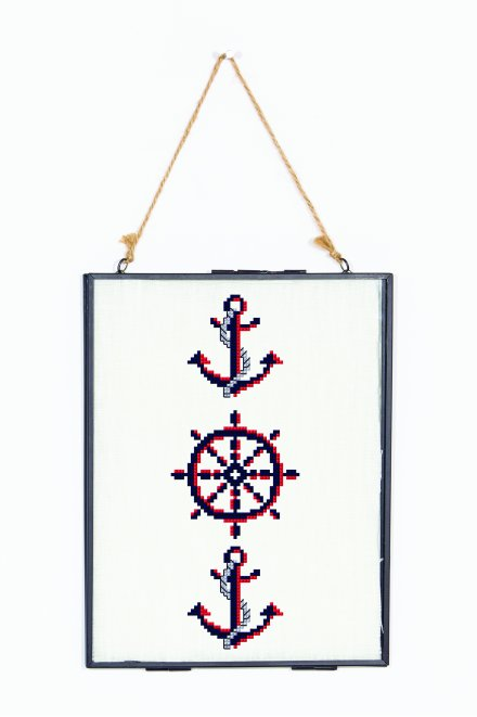 Nautical Anchor  pattern