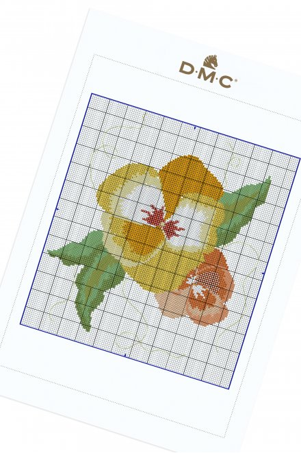 Little Flame Flower - pattern