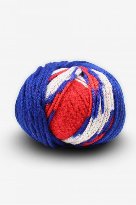 DMC Top This!® Red, White & Blue Football Hat