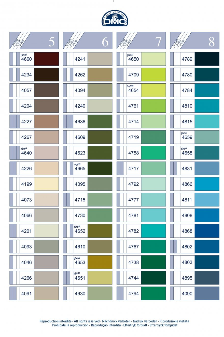 Polyester sewing thread shade card dmc colour cards dmc polyester sewing thread shade card nvjuhfo Images