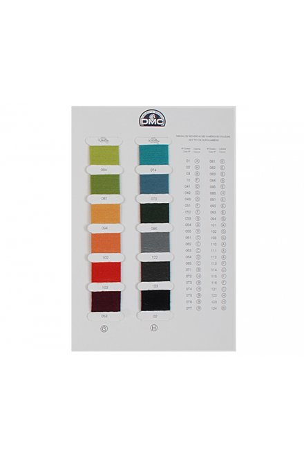Woolly Color Card