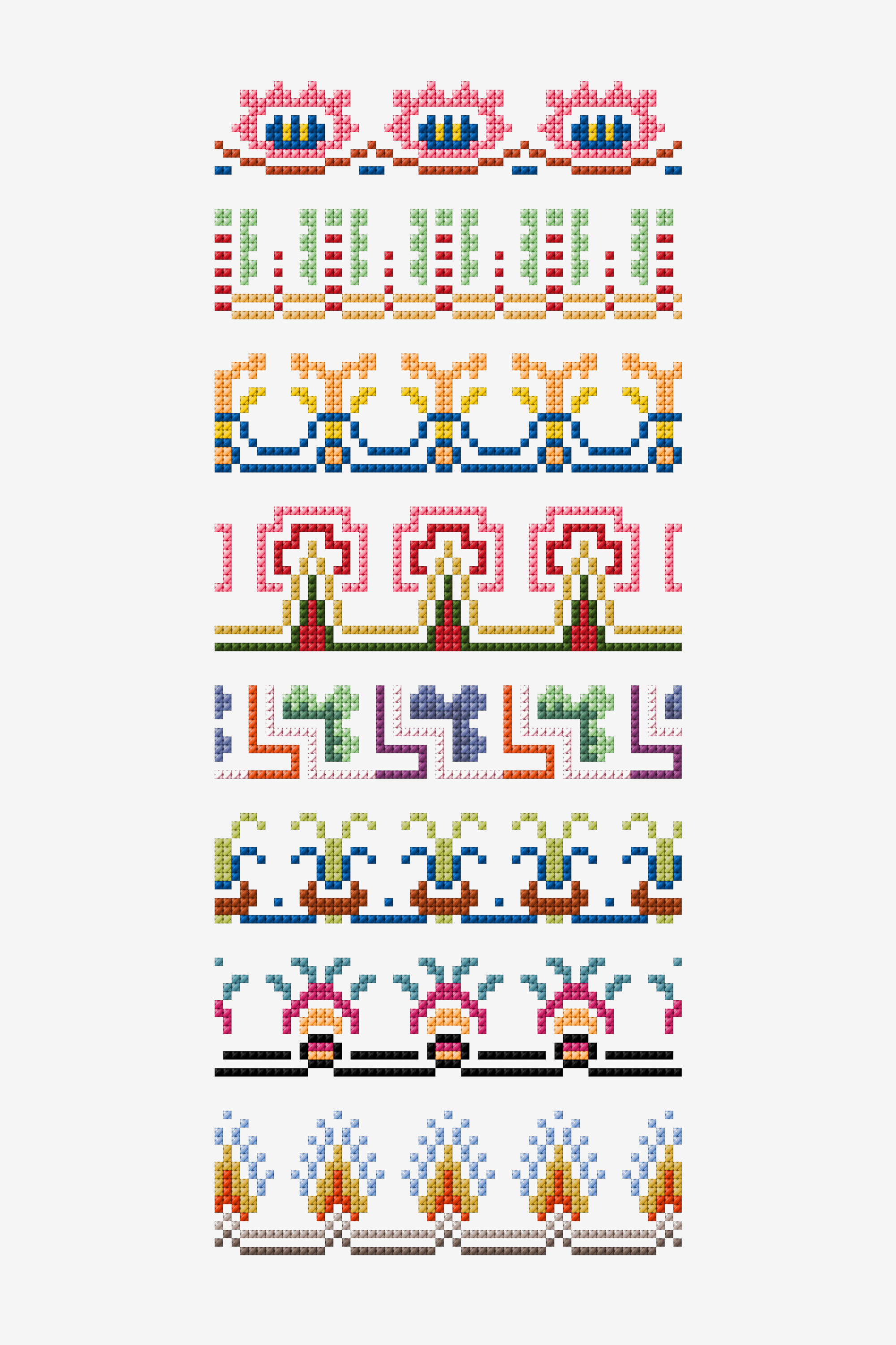 Free embroidery designs and cross stitch patterns dmc point de marque 63 pattern nvjuhfo Gallery