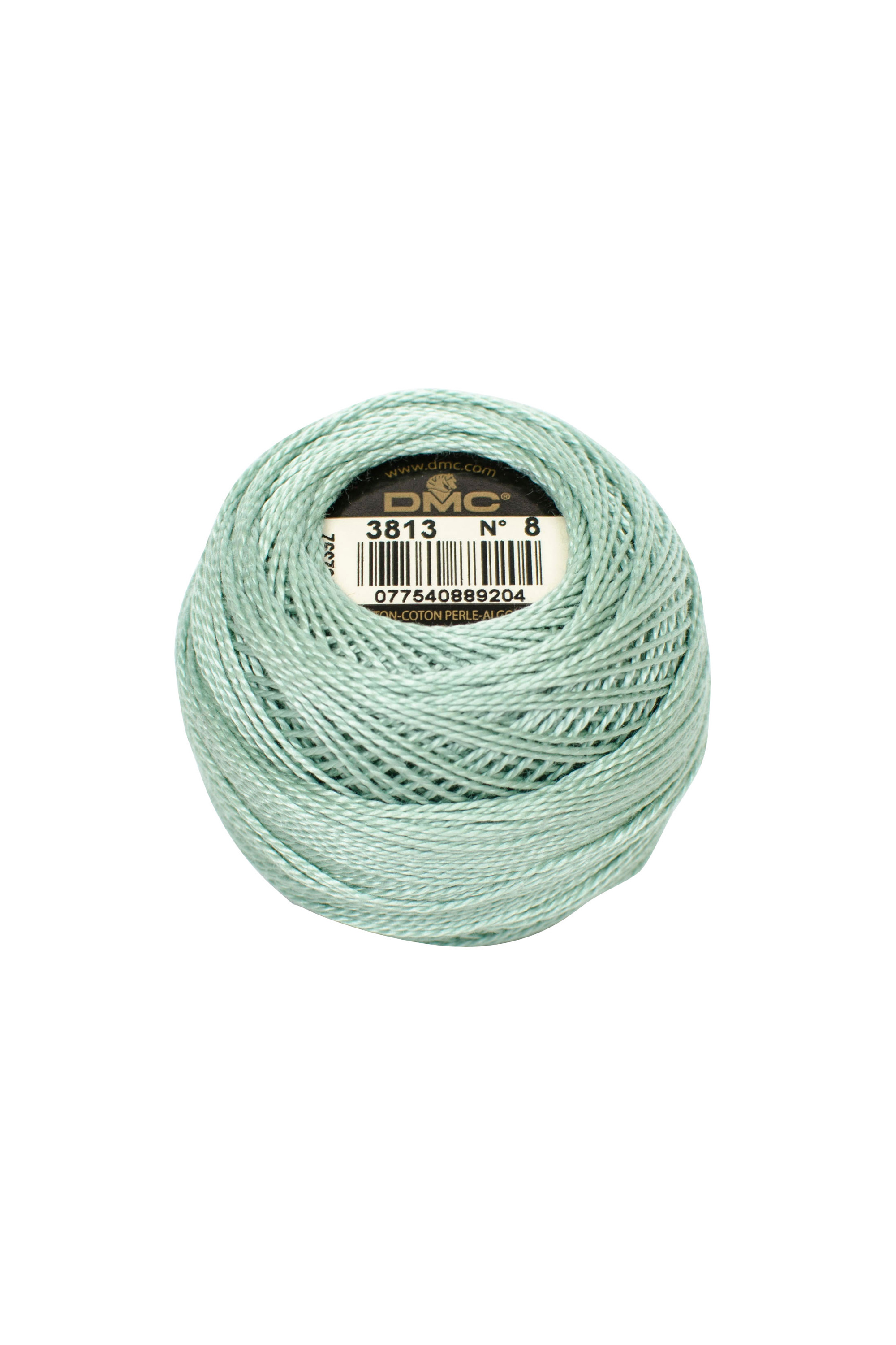 DMC Cotton Perle Pearl Thread Art 116 Box 10 x 10g ball Thick No 5 Colour Blanc