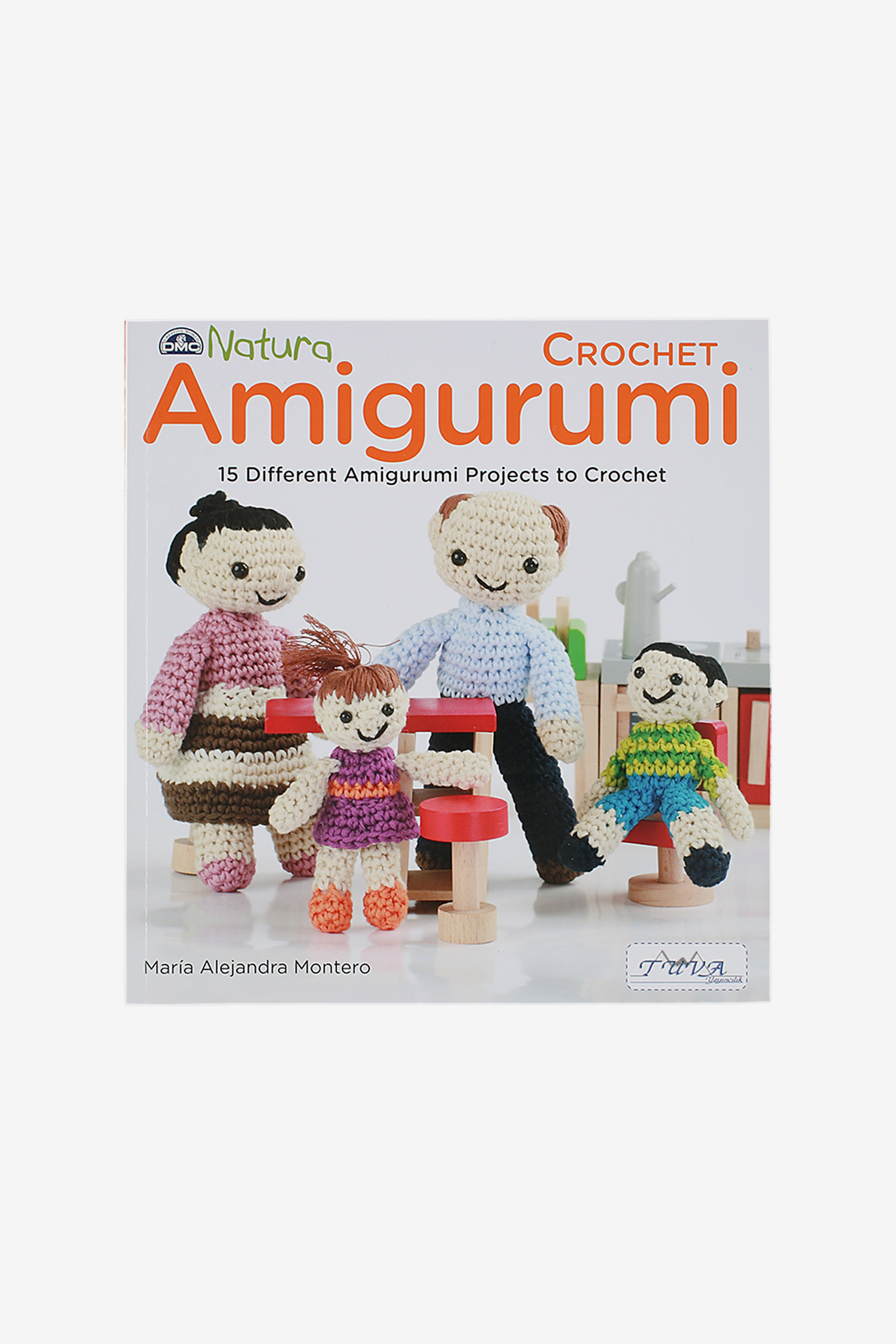 Natura Amigurumi Crochet Pattern Book - Crochet books - DMC
