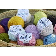 FIL A CROCHETER NATURA MEDIUM  332