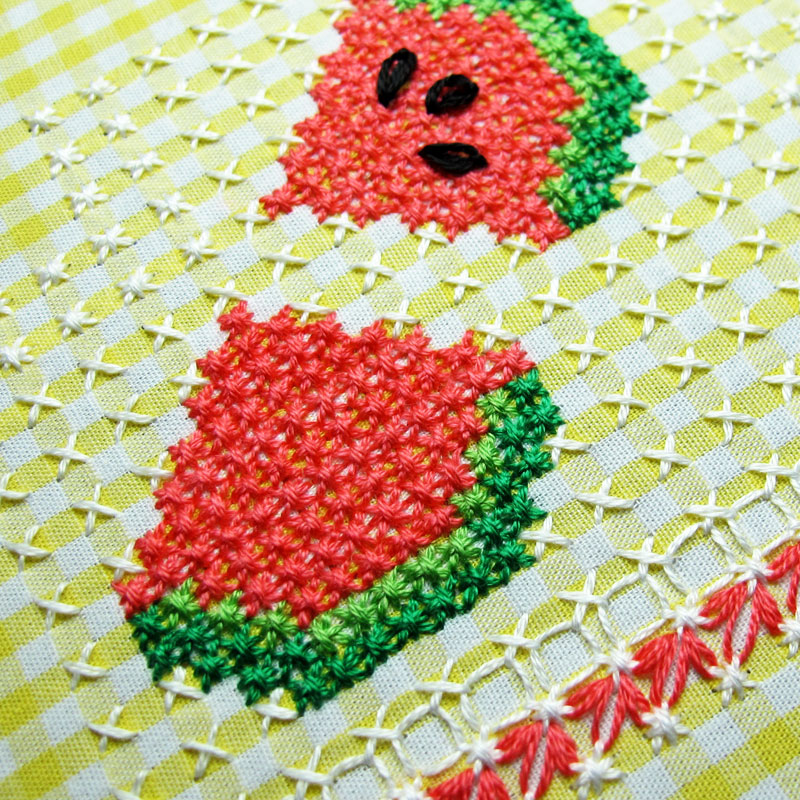 Gingham-Embroidery-Watermelon-06