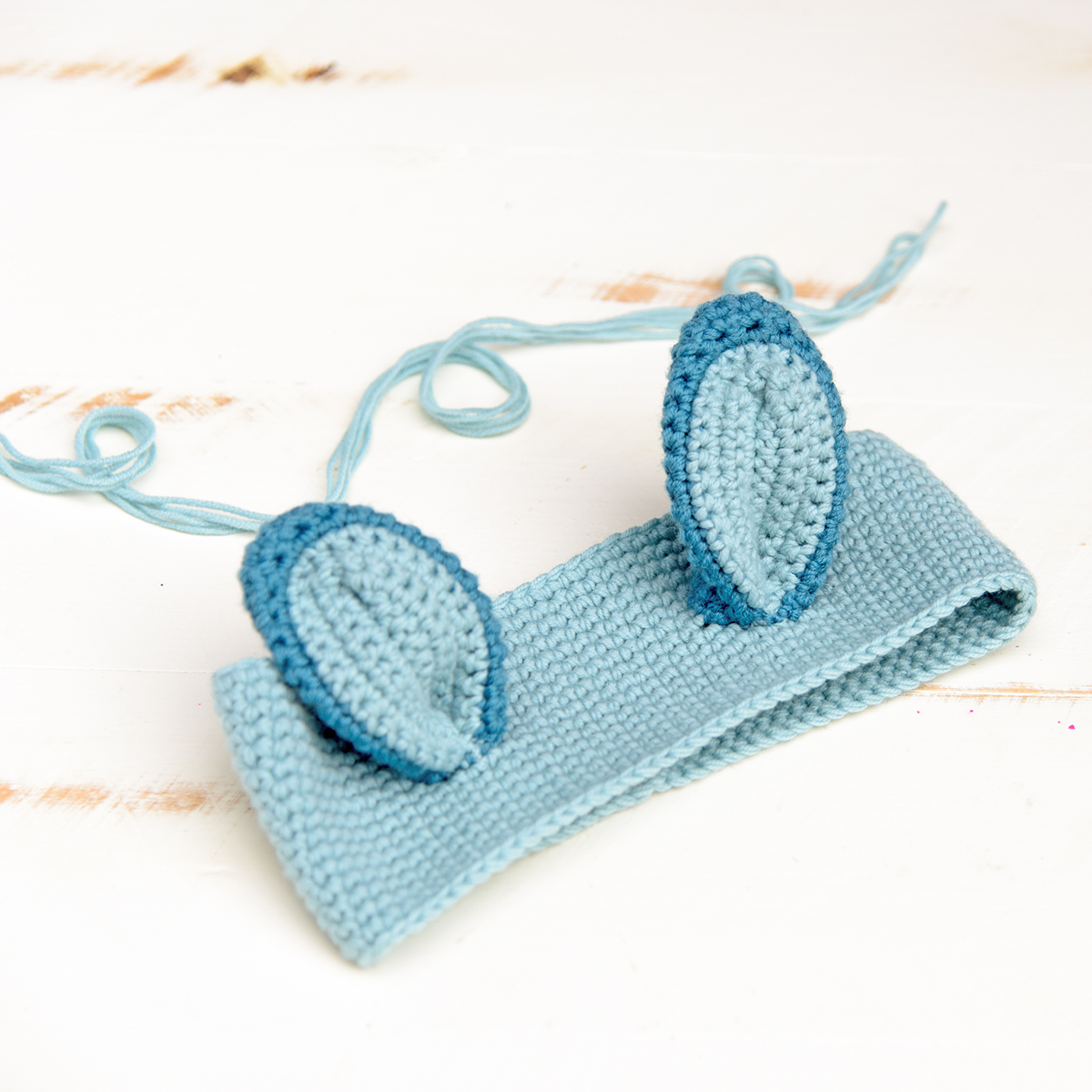 Cute Crochet Headband with Animal Ears