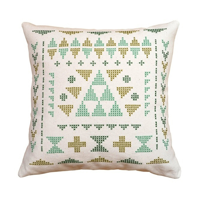 What Delilah Did - Geo Printed Cushion