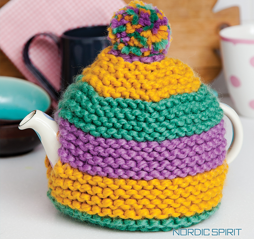 Free Knitted Teapot Cosy Pattern