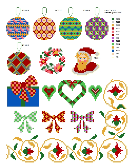 Free Holiday Cross Stitch Charts Impressive Cross Stitch Free Patterns