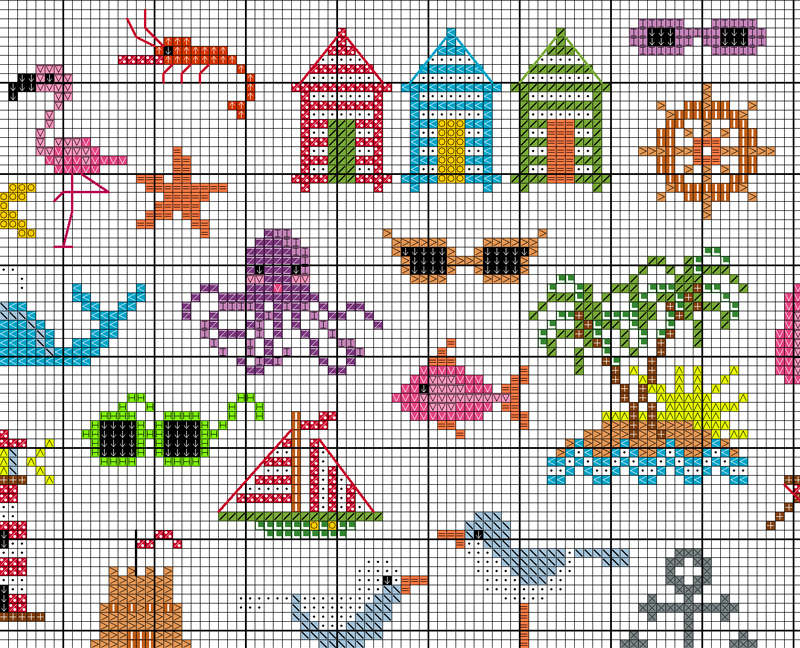 Cross Stitch Beach - Main
