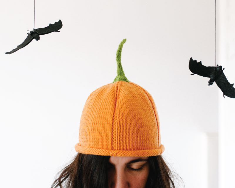 The Knit Pumpkin Beanie