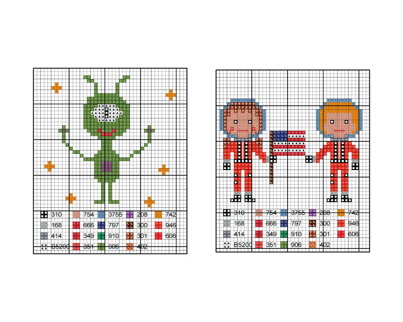 cross stitch chart 2