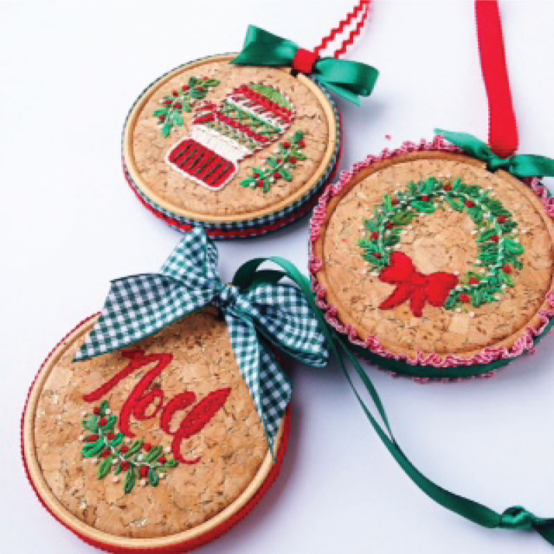 DIY Christmas Ornaments designed by Sarah Milligan