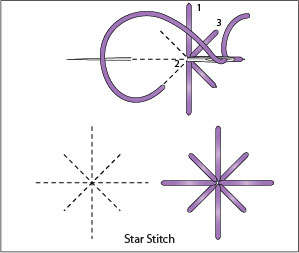 The Star Stitch